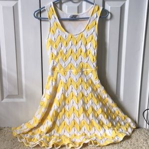 VaVa by Joy Han Chevron dress